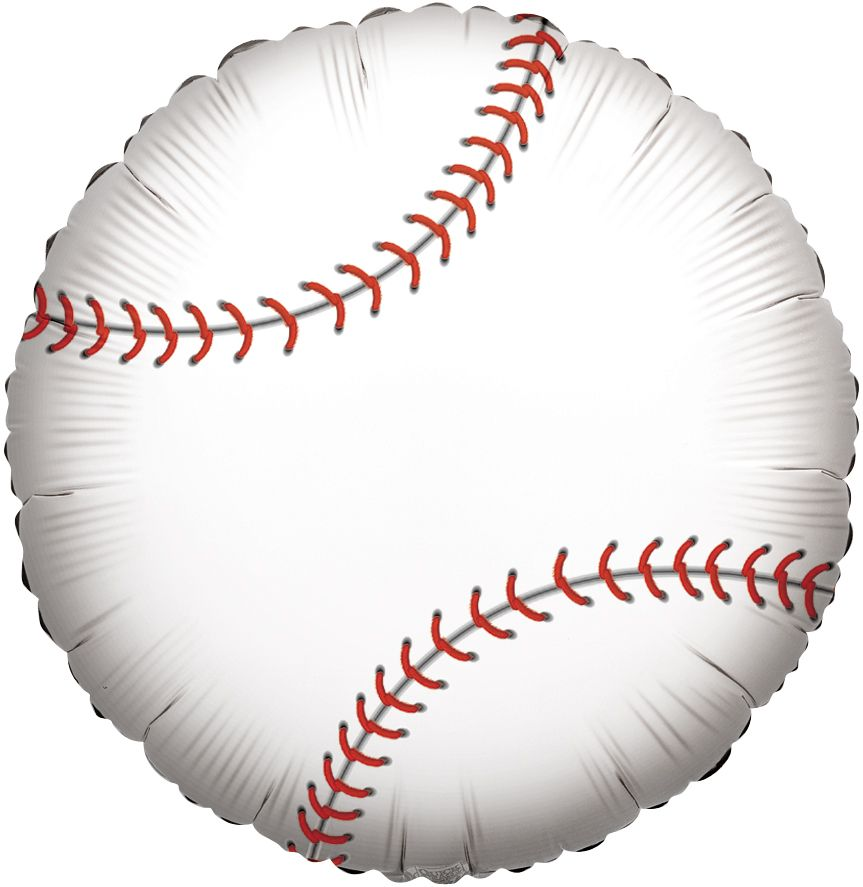 "18"" Baseball Foil Balloon"