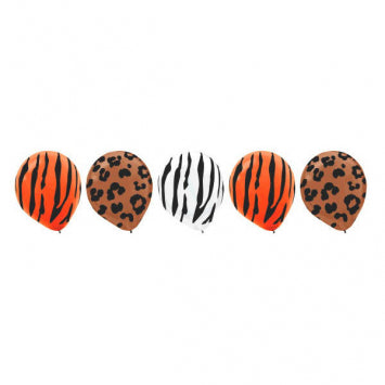 Animal All-Over Print Latex Balloons-20Ct