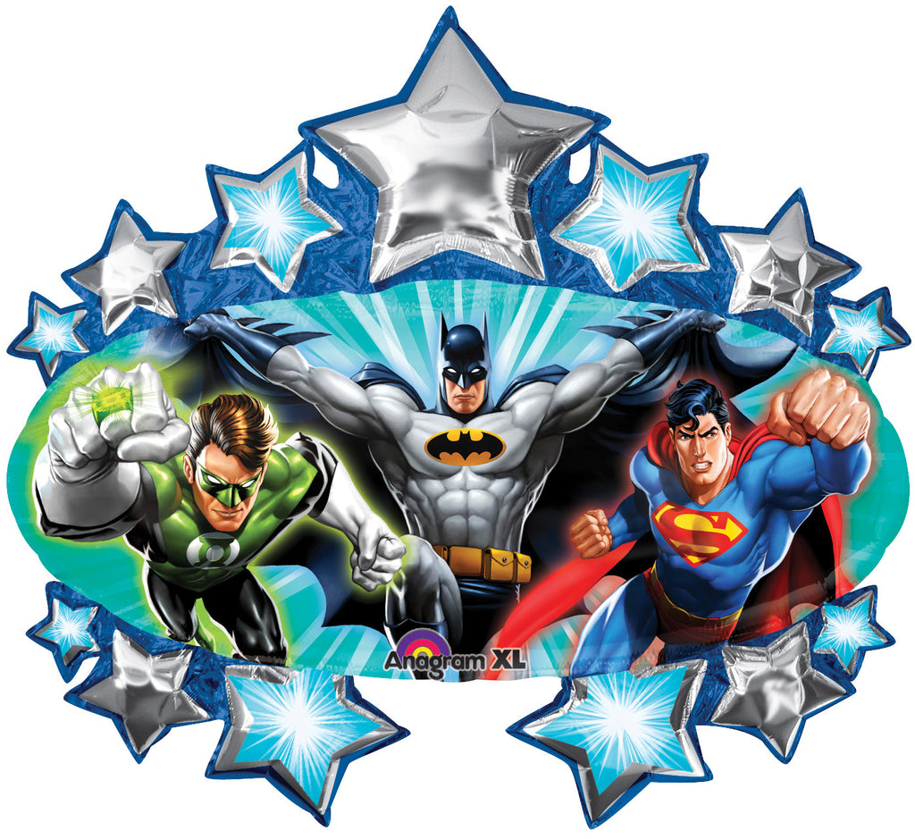 "31"" Justice League Marquee Foil Balloon"