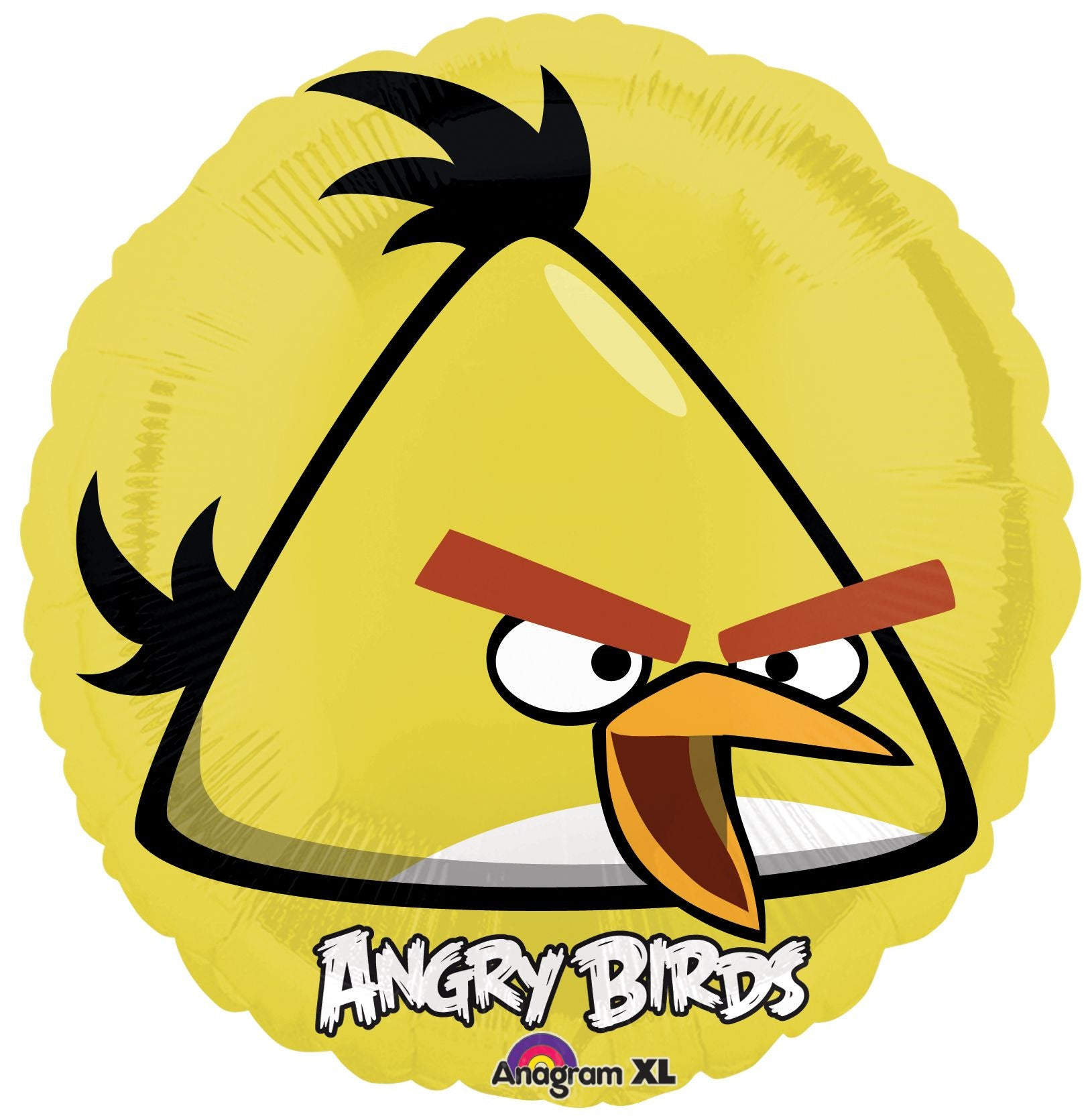 "18"" Angry Birds-Yellow Foil Balloon"