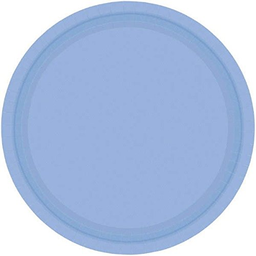 Pastel Blue Luncheon Plates