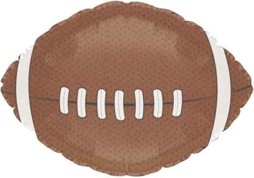 "18"" Football Foil Balloon Pack of 5"