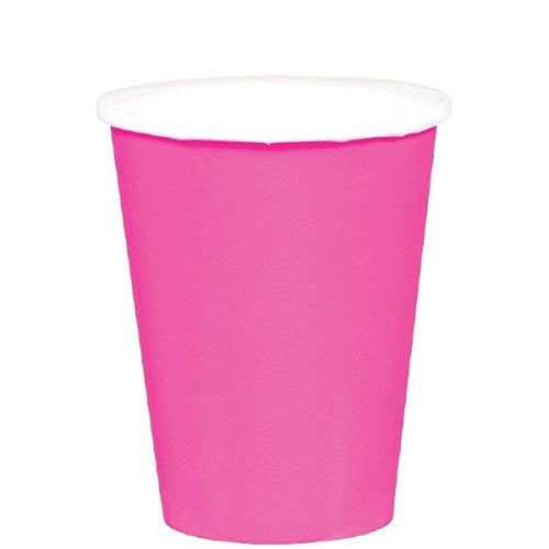 Bright Pink Cups