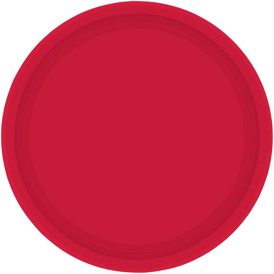 Apple Red Dessert Plates