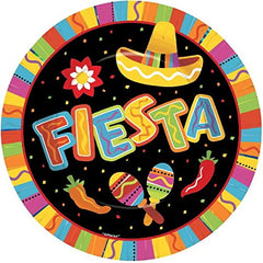 Fiesta Fun Luncheon Plate