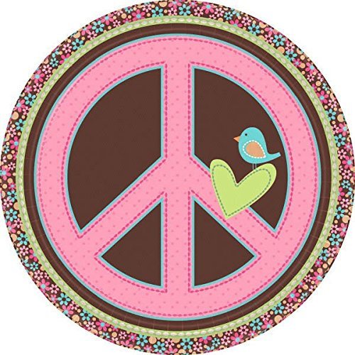 Hippie Chick Lunch Plate