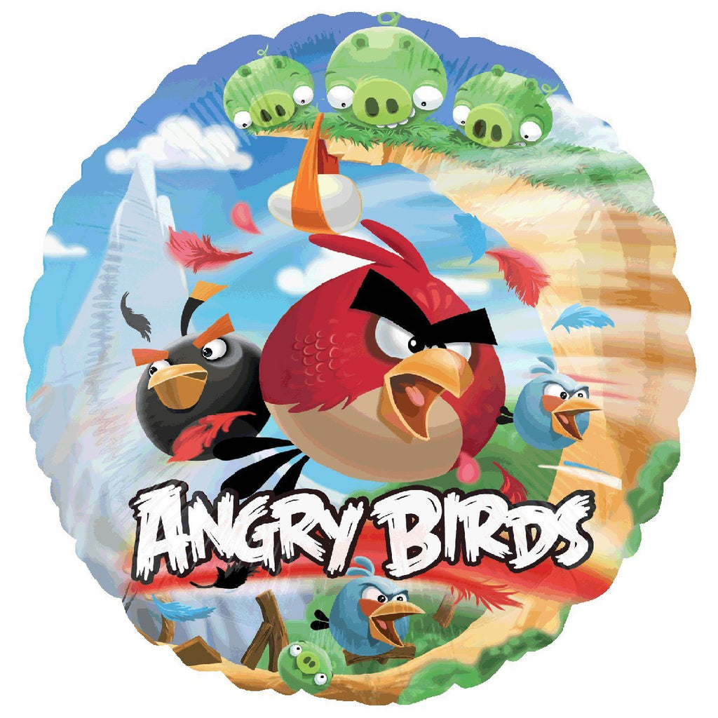 "18"" Angry Birds Foil Balloon"