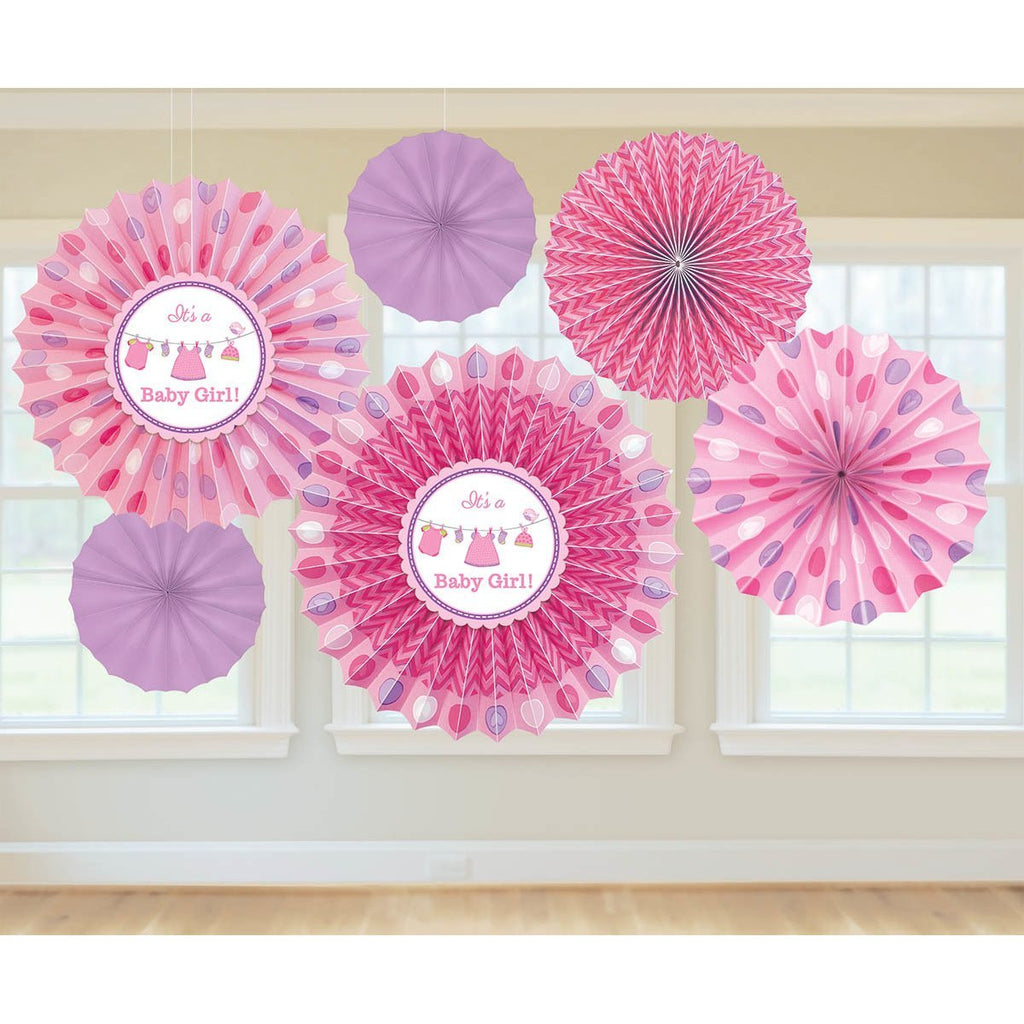 It's a Baby Girl Fan Decoration