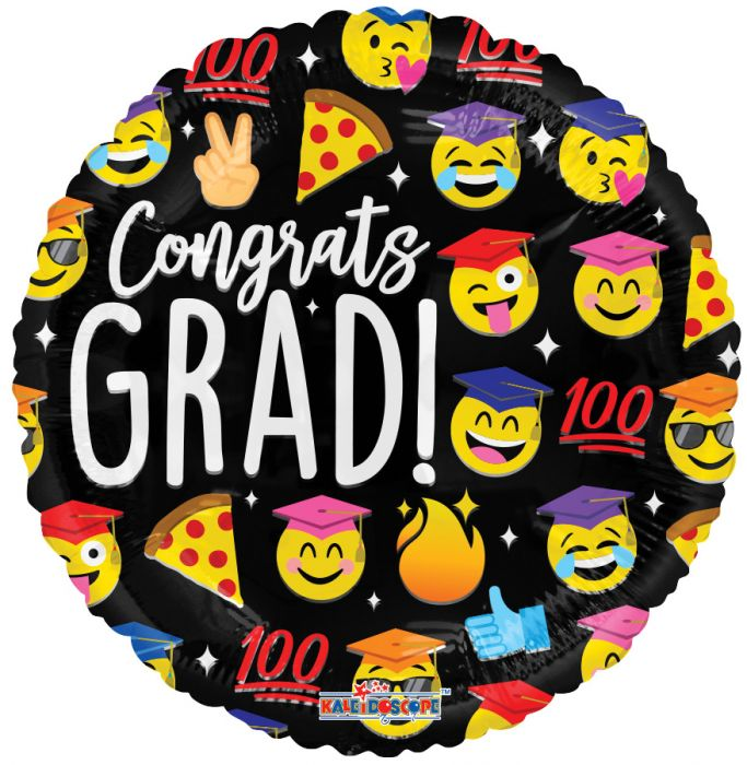"18"" Emoji Graduation Fun!"