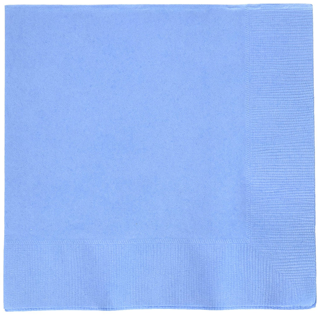 Pastel Blue Beverage Napkins