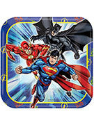 Justice League Dessert Plate - 8 Counts