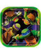 Teenage Mutant Ninja Turtles Dessert Plate - 8 Count