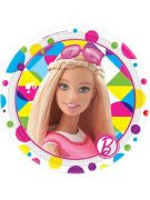 Barbie Dessert Plates - 8 Count