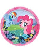 My Little Pony Dessert Plate - 8 Count
