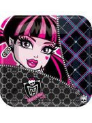 Monster High Dessert Plate - 8 Count