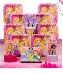 Deluxe Disney Princess Party Kit - 8 Guests
