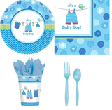 Baby Shower Its a Baby Boy Party Kit - 8 Guests