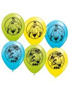 Batman Latex Balloons - 6 Count
