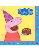 Peppa Pig Luncheon Napkin - 16 Count