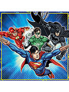 Justice League Luncheon Napkin - 16 Counts