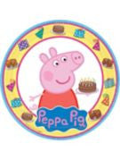 Peppa Pig Luncheon Plate - 8 Count