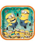 Despicable Me Luncheon Plates