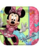 Minnie Mouse Luncheon Plate - 8 Count