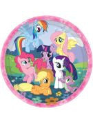 My Little Pony Luncheon Plate - 8 Count