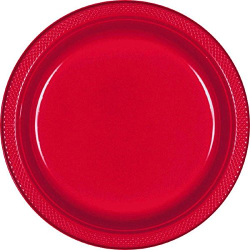 Apple Red Lunch Plates