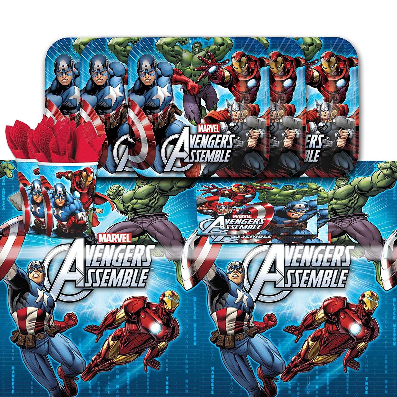 Avengers Party Kit for 16