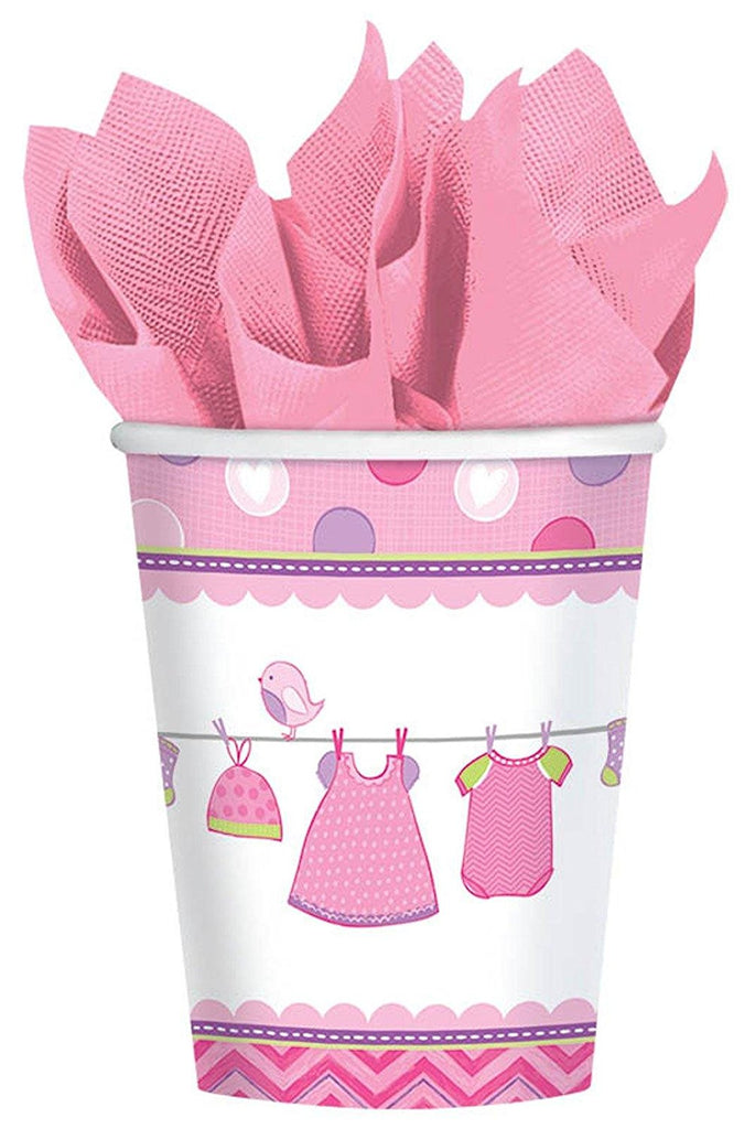 It's a Baby Girl Cup - 8 Ct