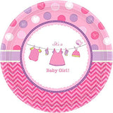 It's a Baby Girl Luncheon Plate - 8 Ct