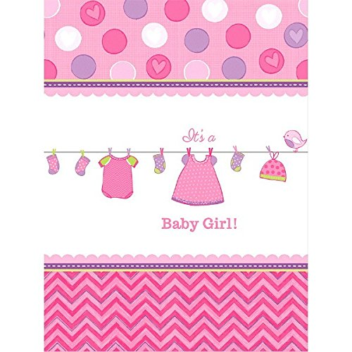 It's a Baby Girl Tablecover