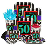50th Celebration Party Kit - 8 Guests