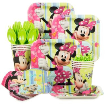 Disney's  Minnie Mouse Basic Party Kit