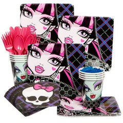 Monster High Party Kit - 8 Guests