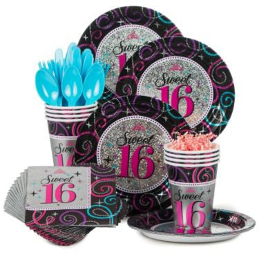 Sweet 16 Party Kit - 8 Guests