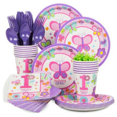 Sweet 1st B'day Basic Party Kit-18 Guests