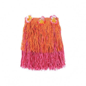 Child's Two-Tone Hula Skirt