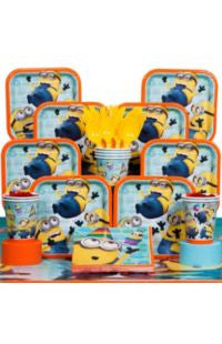 Deluxe Despicable Me Party Kit - 8 Guests