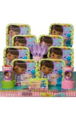 Disney Doc McStuffins Deluxe Party Kit - 8 Guests