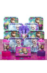 Disney Frozen Deluxe Party Kit - 8 Guests
