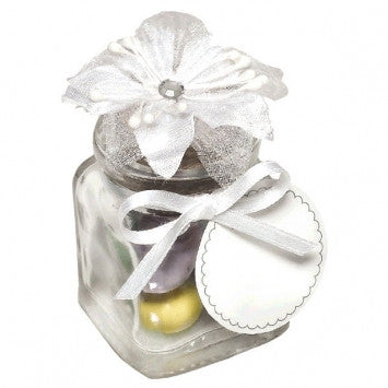 Glass Jar Wedding Favor Kit 12 Ct
