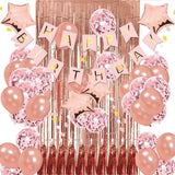 Rose Gold Birthday Party Decorations KIT