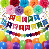 Happy Birthday Decoration Kit - Colorful