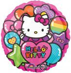 Hello Kitty Rainbow Foil Balloon