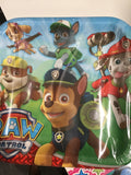 Paw Patrol Luncheon Plate - 8 Count