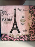 Day in Paris Luncheon Napkins