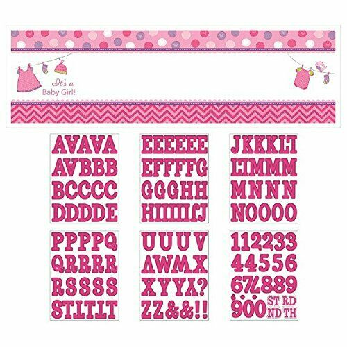It's a Baby Girl Personalized Banner