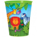 Jungle Animals Plastic Cup